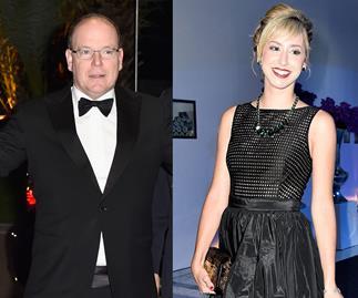 Prince Albert of Monaco and Jazmin Grace Grimaldi