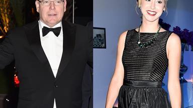 Prince Albert attends event with daughter Jazmin Grace Grimaldi