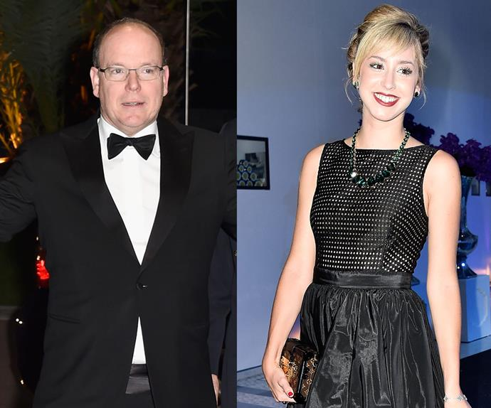 Prince Albert of Monaco and Jazmin Grace Grimaldi