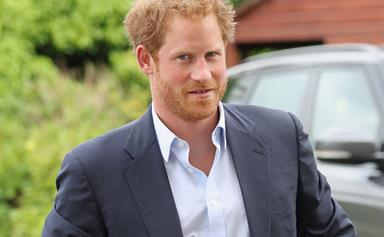 Prince Harry told off for his scruffy appearance