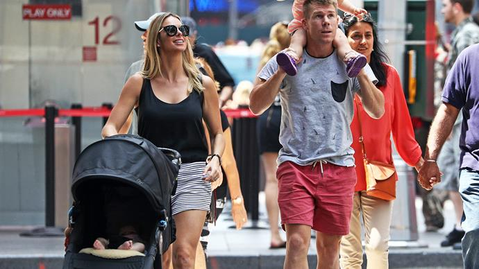 David and Candice Warner