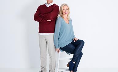 The Block NZ's Mark Richardson & Shelley Ferguson hammer it out!