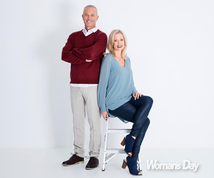 Mark Richardson and Shelley Ferguson