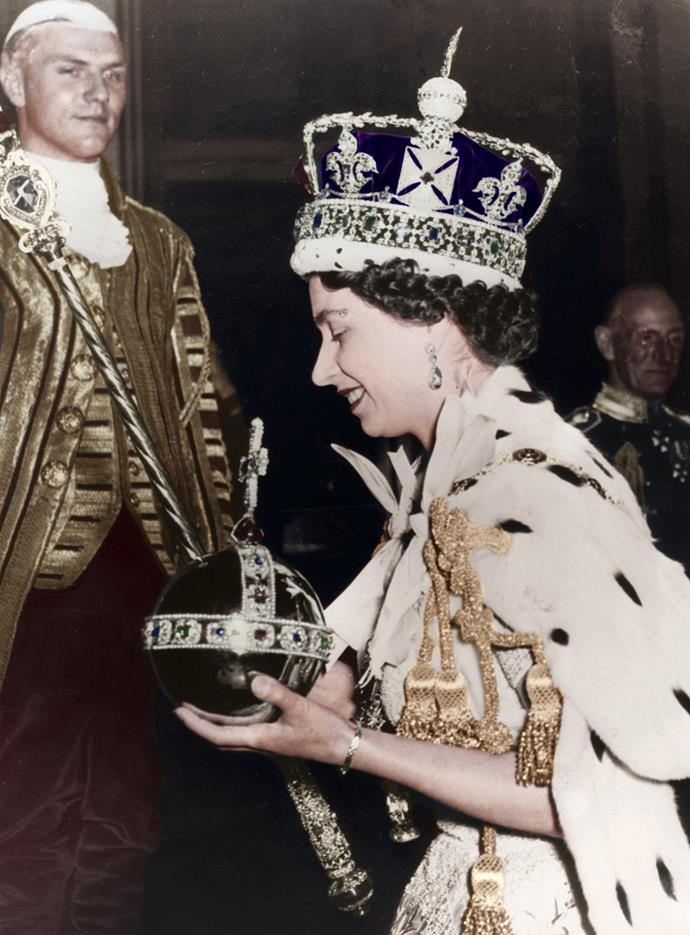 That same year, Queen Elizabeth II would be the first reigning monarch to ever visit New Zealand. Photo: Print Collector via Getty