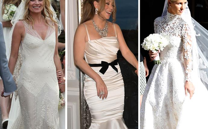 Kate Moss, Mariah Carey, Nicky Hilton