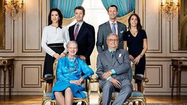 New portrait of the Danish royal family released