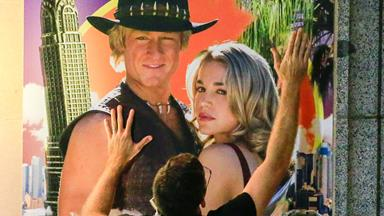 Now that's a biopic! First look at the Paul Hogan telemovie