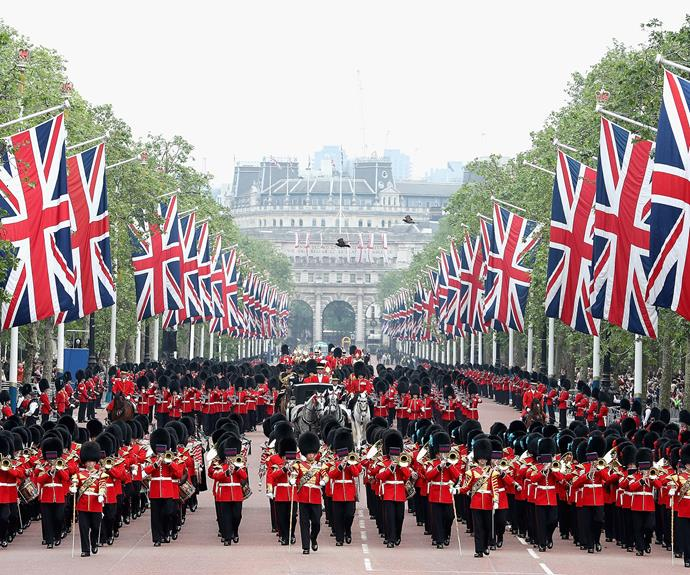 Trooping the Colour parade 2016