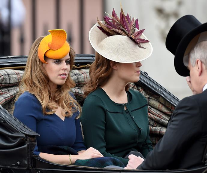 Princesses Eugenie and Beatrice showed off their fashion flare.