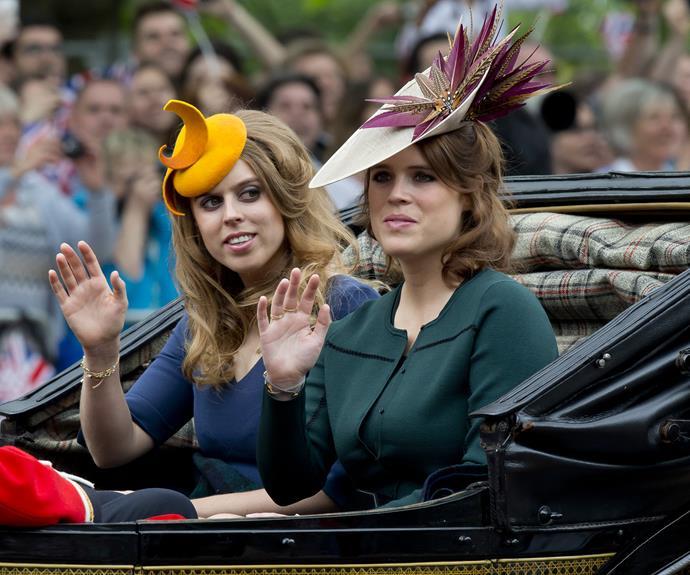 Princess Beatrice and Princess Eugenie.