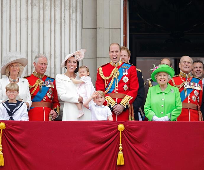 A grand day for the royals.