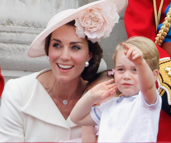 "Prince George adores the planes at [Trooping The Colour.](http://www.womansday.com.au/royals/british-royal-family/trooping-the-colour-2016-15603|target=""_blank"")"