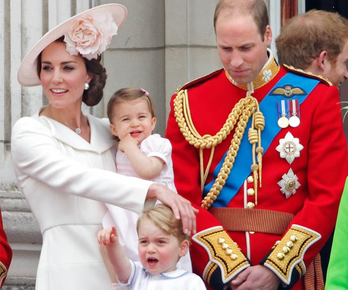 The Cambridges really are the most loving family unit!
