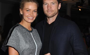 Lara Worthington confirms she's expecting another baby with husband Sam Worthington