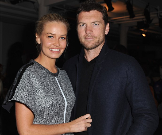 Lara Bingle Worthington Sam Worthington