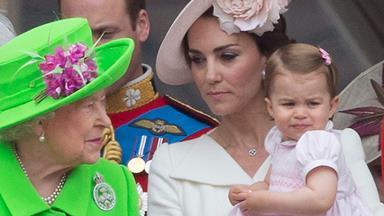 Duchess Catherine reveals Princess Charlotte's naughty side