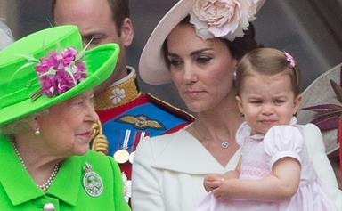 Duchess Catherine reveals Princess Charlotte's naughty side