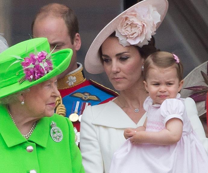 Queen Elizabeth Duchess Catherine Princess Charlotte