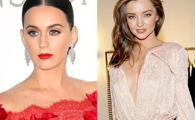 Inside Miranda Kerr and Katy Perry's backstage meeting