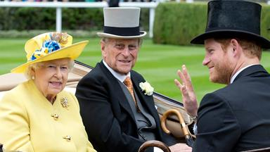The British royal family attend Royal Ascot 2016