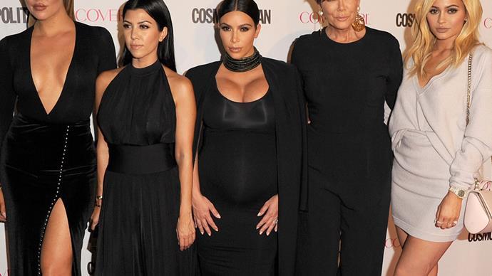 Kim Kardashian Khloe Kardashian Kourtney Kardashian Kylie Jenner, Kris Jenner