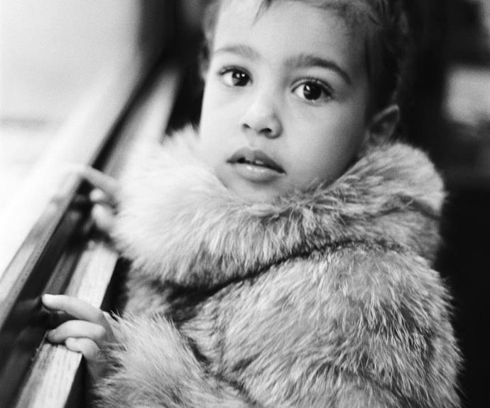 """Kendall captioned this cute pic """"North by Me"""""""