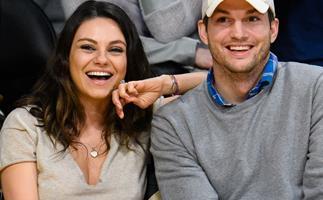 Mila Kunis Ashton Kutcher Wyatt Kutcher