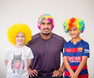 Jerome Kaino, Wig Wednesday