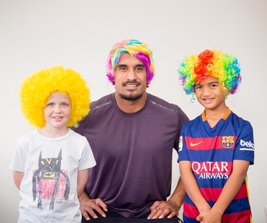 Kiwi stars get behind Wig Wednesday for Child Cancer Foundation
