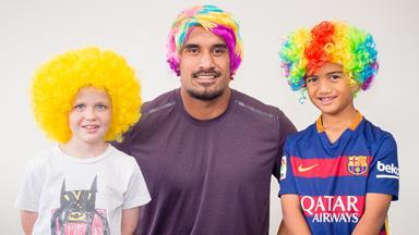 Kiwi stars get behind Wig Wednesday for Child Cancer Foundation