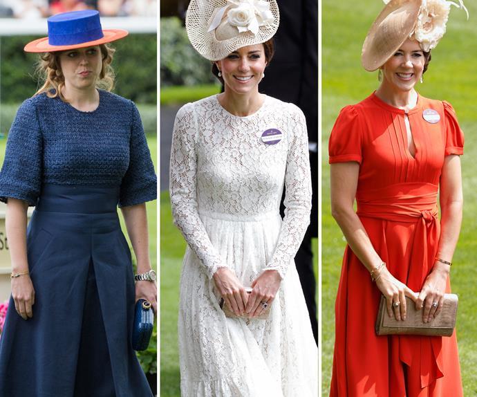 Kate Middleton, Princess Beatrice, Princess Mary