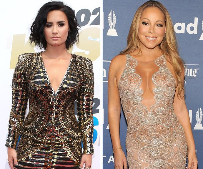 Demi Lovato and Mariah Carey