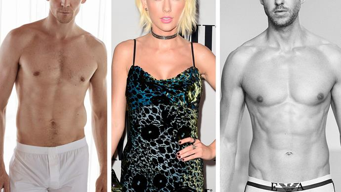 Tom Hiddleston, Taylor Swift, Calvin Harris