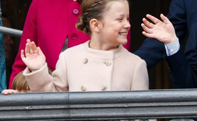 Princess Isabella can't resist snapping a photo with a famous singer