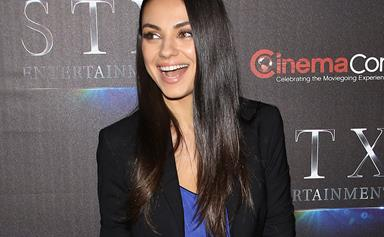 Mila Kunis shows off her new baby bump after announcing bub no. 2!