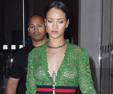 Fears for Rihanna as she breaks down in tears on stage