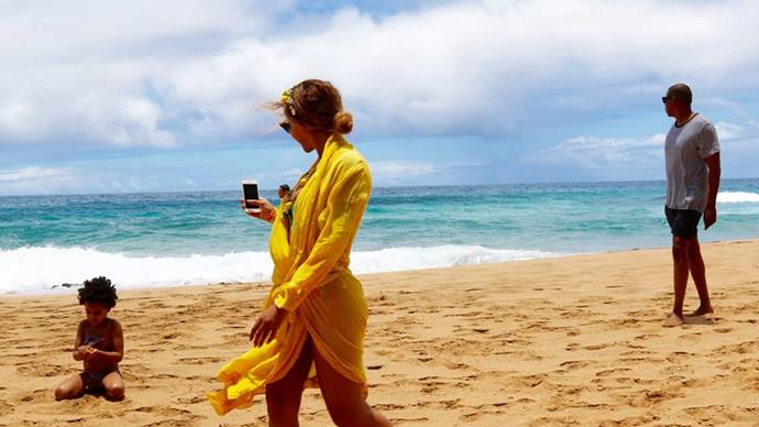 Aloha! Beyonce, Blue Ivy and Jay Z are having the best summer ever