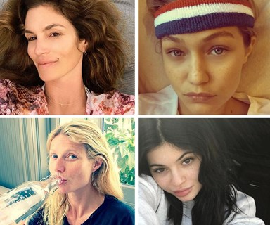 Stars go makeup free!