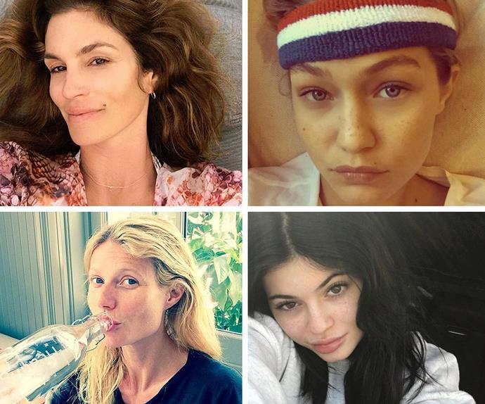 Cindy Crawford, Gigi Hadid, Kylie Jenner, Gwyneth Paltrow