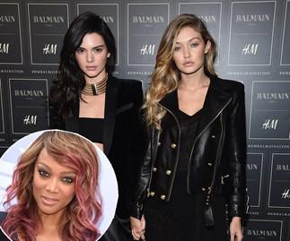 Kendall Jenner Gigi Hadid Tyra Banks