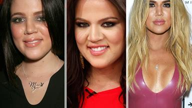 Keeping Up with Khloe Kardashian's transformation