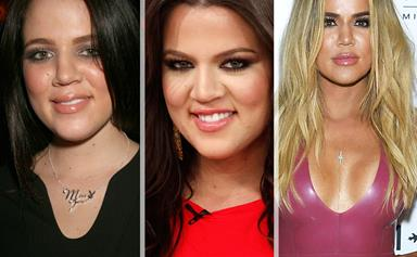 Keeping Up with Khloe Kardashian's transformation