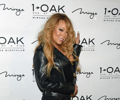 Mariah Carey performs DJ set in lingerie and no pants