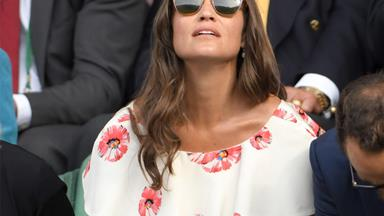 Pippa Middleton nearly flashes everyone at Wimbledon 2016
