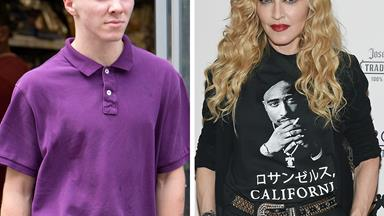 Rocco Ritchie throws shade at Madonna with a meme