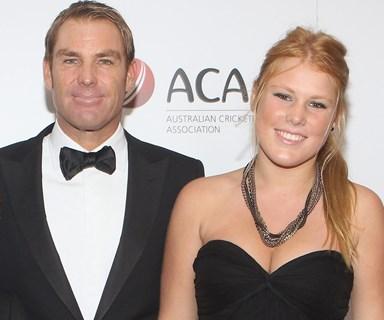 Shane Warne's touching tribute to daughter