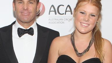Shane Warne's touching tribute to daughter
