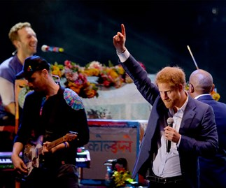 Coldplay and Prince Harry