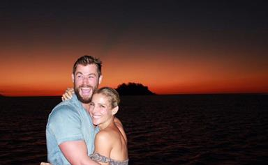 Chris Hemsworth and Elsa Pataky adventure Australia