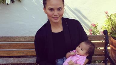 Chrissy Teigen and John Legend just shared the sweetest photos of Luna